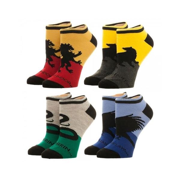 Harry Potter Hogwarts House Ankle Socks 4 Pack