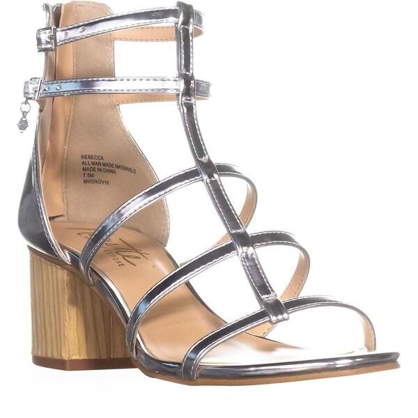 Nanette Nanette Lepore Rebecca Gladiator Dress Sandals, Silver