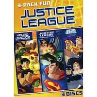 Justice League 3 Pack Fun [DVD]