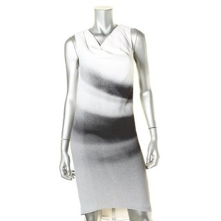 Helmut Lang Womens Crepe Ombre Wear to Work Dress - 0
