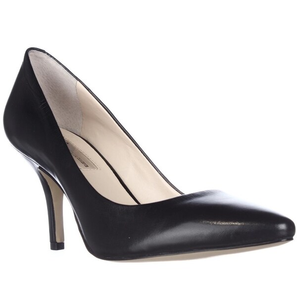 I35 Zitah Classic Pointed Toe Pump Heels, Black