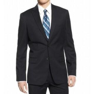 Calvin Klein NEW Blue Mens Size Small S Two Button Notch-Collar Blazer