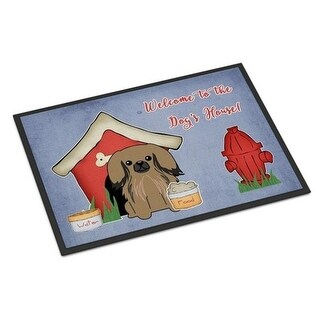 Carolines Treasures BB2856JMAT Dog House Collection Pekingnese Tan Indoor or Outdoor Mat 24 x 0.25 x 36 in.