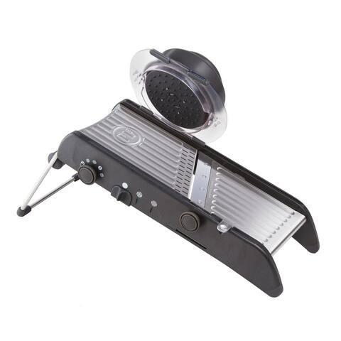 Progressive International PL8 Professional Mandoline Slicer, Black