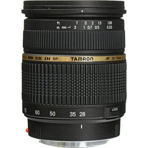 Tamron A09 SP AF 28-75mm f/2.8 XR Di LD Aspherical (IF) Macro Zoom (International Model)