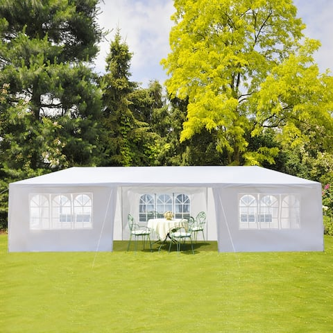 3 x 9m Seven Sides Portable Home Use Waterproof Tent with Spiral Tubes