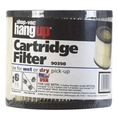 Shop-Vac 903-98-00 Wet/Dry Cartridge Filter