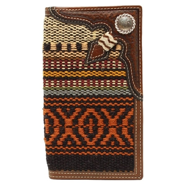 Nocona Western Wallet Mens Rodeo Floral Concho Multi-Color - One size