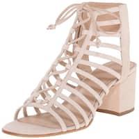 Pour La Victoire Womens Amabelle Suede Open Toe Casual Strappy Sandals
