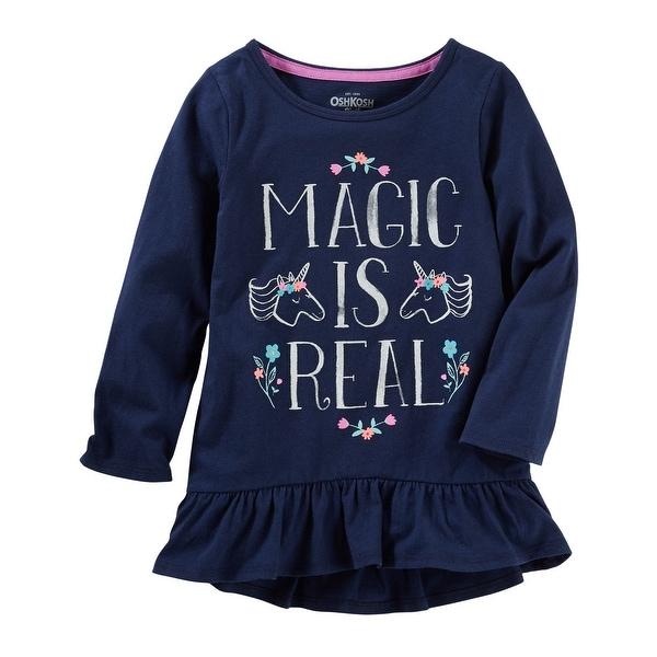 439e59c1a9 OshKosh B'gosh Little Girls' Mix Kit Real Magic Tunic, 4 Kids