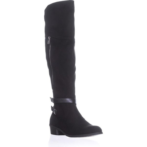 Indigo Rd. Custom Turlock Knee High Boots, Black Multi