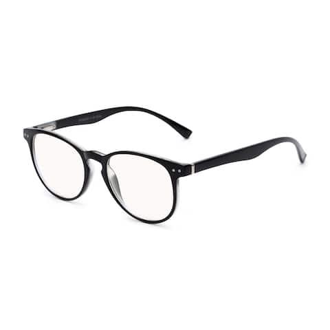 Readers.com The Cole Blue Light Reader Retro Square Reading Glasses