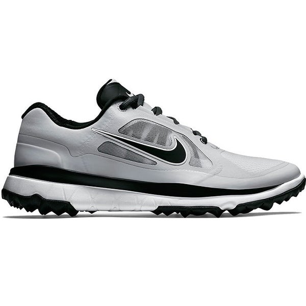 102e8fb808b7 Shop Nike Men s FI Impact Light Grey Black Golf Shoes 611510-003 611511-003  - Free Shipping Today - Overstock - 19748352