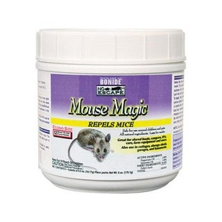 Bonide 866 No Escape Mouse Magic Repellent, 12/Pack