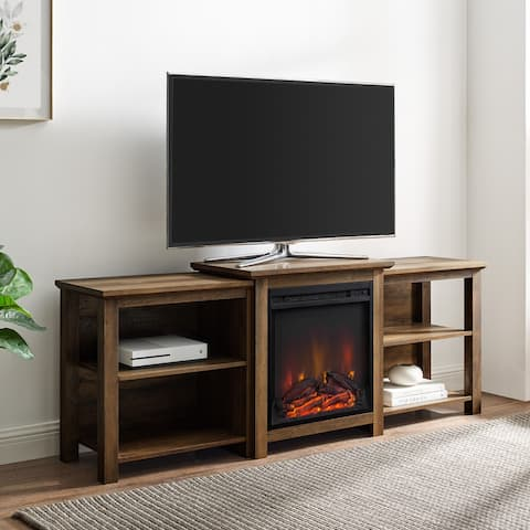 The Gray Barn 70-inch Tier Top Fireplace TV Console