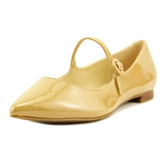Marc Fisher Stormy Pointed Toe Leather Mary Janes
