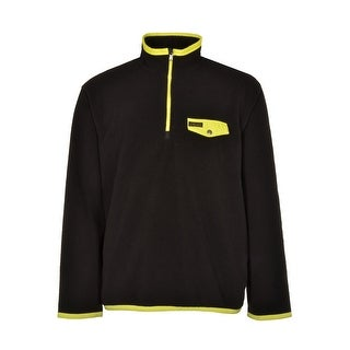 Polo Ralph Lauren Big and Tall Fleece Sweatshirt Black and Yellow 3XLT Tall