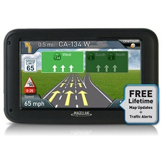 Magellan RoadMate 5270T-LMB GPS Navigation System w/ Free Lifetime Map Updates & Traffic Alerts
