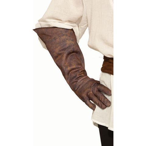 Men's Weathered Gloves - Brown - One Size Fits Most