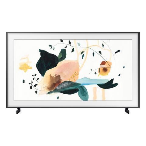 "Samsung QN43LS03T 43"" The Frame QLED 4K UHD Smart TV - Steel"