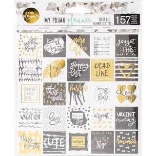 "My Prima Planner Stickers 6""X6"" 3/Pkg-Everyday W/Foil"