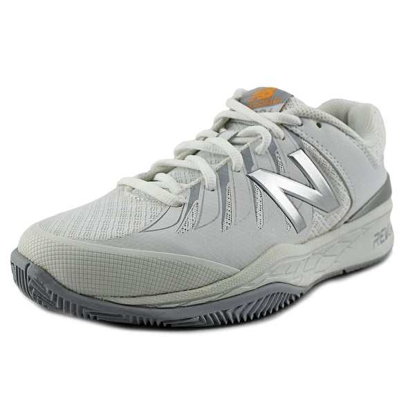 New Balance WC1006 Women  Round Toe Leather White Sneakers