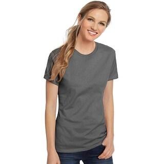 Hanes Women's Nano-T® T-shirt - Color - Graphite - Size - 2XL