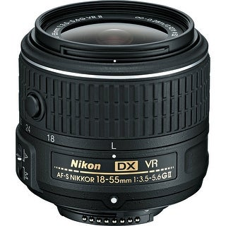 Nikon AF-S DX NIKKOR 18-55mm f/3.5-5.6G VR II Lens (International Model)