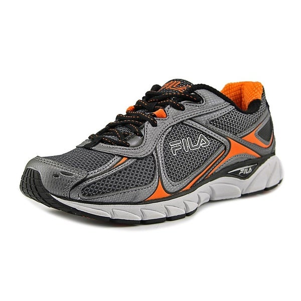 Fila Quadrix Men Round Toe Synthetic Silver Sneakers