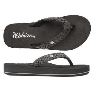 Cobian Womens Braid Bounce Sandals