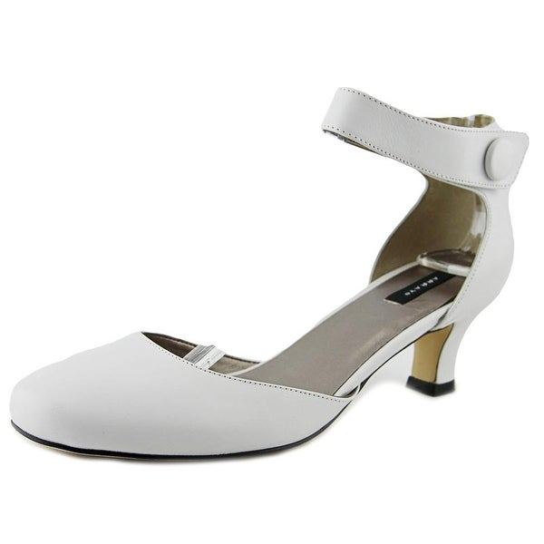 Array Charlie   Round Toe Leather  Heels