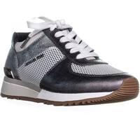 MICHAEL Michael Kors Allie Trainer Sneakers, Gunmetal