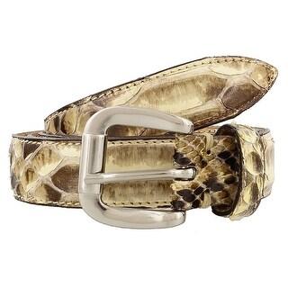 Renato Balestra Naja Python Leather Womens Belt