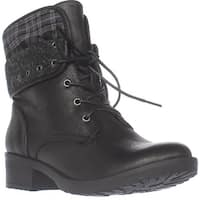BareTraps Olympia Lace-up Ankle Boots, Black