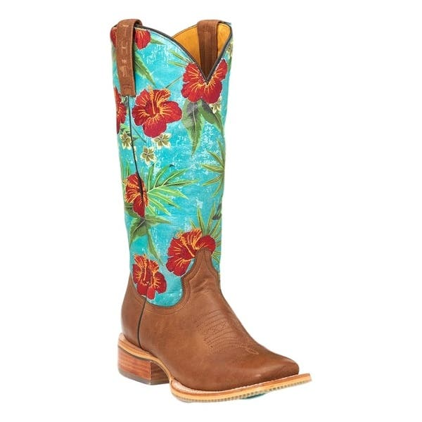 e70b2a74826 Shop Tin Haul Western Boots Womens Hawaiian Leather Tan - Free ...