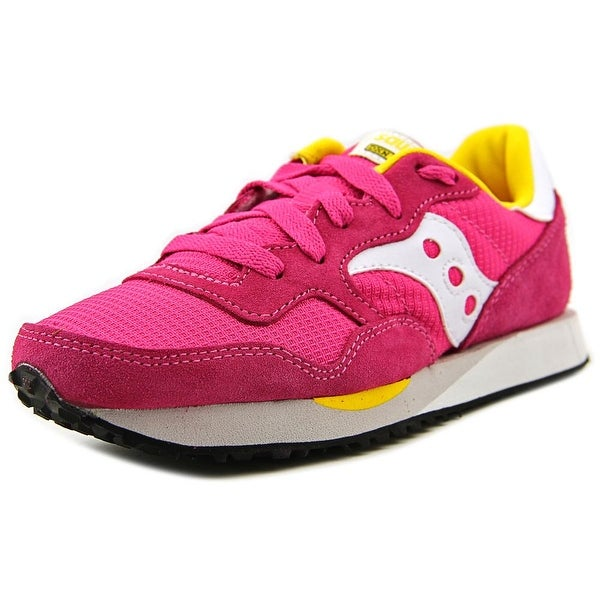 Saucony Dxn Trainer Round Toe Suede Sneakers
