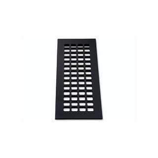 "Reggio Registers G616-AH Grid Series 14"" x 4"" Grille with Mounting Holes - N/A"