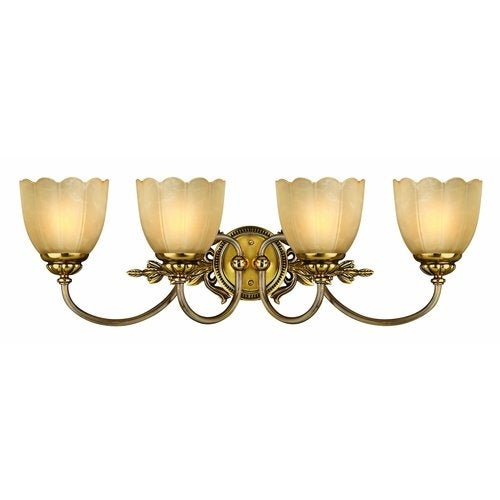 "Hinkley Lighting H5394 4 Light 29"" Width Bathroom Vanity Light from the Isabella Collection"