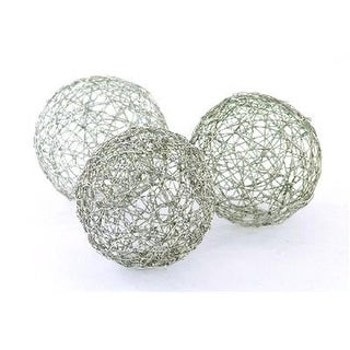 3 in. D Wire Spheres -Box of 3