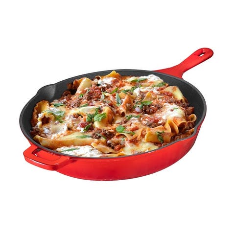 Cast Iron Skillet, Non-Stick,12 inch Frying Pan Skillet Pan
