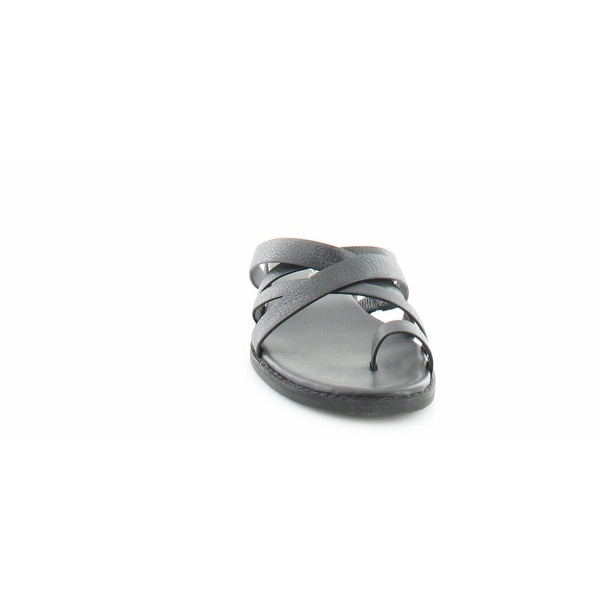 Via Spiga Reese 2 Open Toe Leather Suede Sandals White