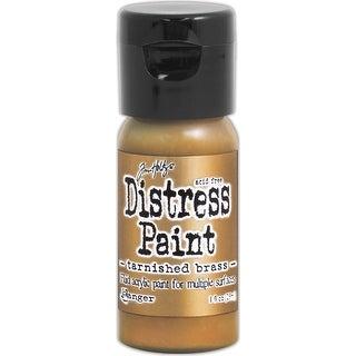 Distress Paint Flip Top 1oz-Tarnished Brass