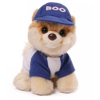 "5"" Itty Bitty Boo the World's Cutest Dog ""Baseball"" Themed Children's Plush Stuffed Animal #031 - Brown"
