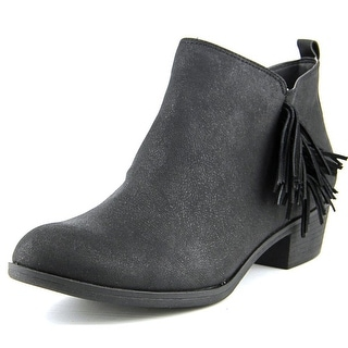 American Rag Alix Women Round Toe Synthetic Black Bootie