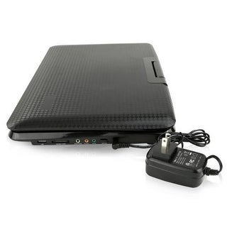 15 in. Portable CD & DVD HD Wild Screen Player with USB Card Reade