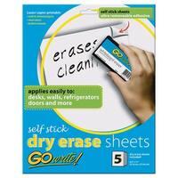 Dry Erase Sheets Self Stick 8 1/2
