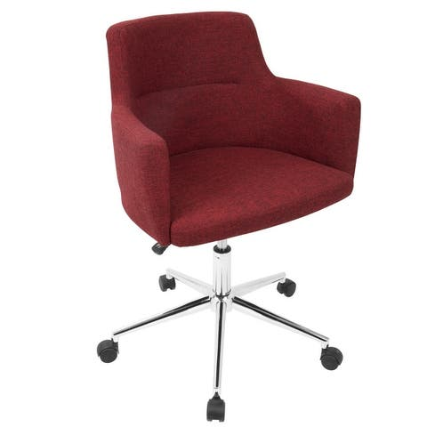 Carson Carrington Duved Contemporary Fabric Office Chair - N/A