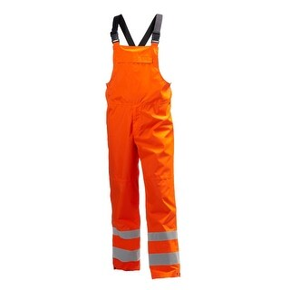 Helly Hansen Workwear Mens Alta Shelter Bib High Visibility - Orange - 2XL