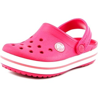 Crocs Crocband Round Toe Synthetic Clogs