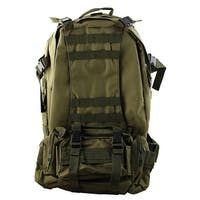 Outdoor Trekking Climbing Camping Hiking Backpack Large Capacity Bag Army Green